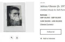 Christie's Londra licitează un studiu pentru un autoportret semnat de Adrian Ghenie