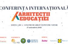 Conferința  Arhitecții Educației: Cum construim abilități pentru viitor