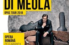 Interviu cu Al Di Meola: Artistul revine în Cluj-Napoca în 26 Noiembrie la Opera Națională Română