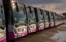 Galerie Foto | Primăria Cluj achiziționează încă 60 de autobuze Mercedes noi pentru transportul în comun