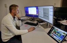 Firma lui Adrian Costișor s-a dotat cu echipamente și softuri din fonduri europene | Foto: Dan Bodea