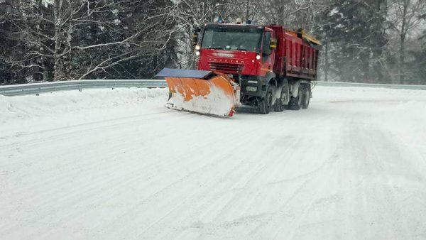 Niciun drum blocat de zăpadă în județul Cluj
