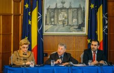"EC Vella takes part in the ""Circular Economy Success Stories"", next to Gratiela Leocadia Gavrilescu, Romanian vice prime-minister and environment minister, Thursday, December 6th, 2018, in Bucharest, Romania."