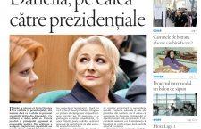 Nu ratați noul număr din Transilvania Reporter: Dăncilă, pe calea către prezidențiale