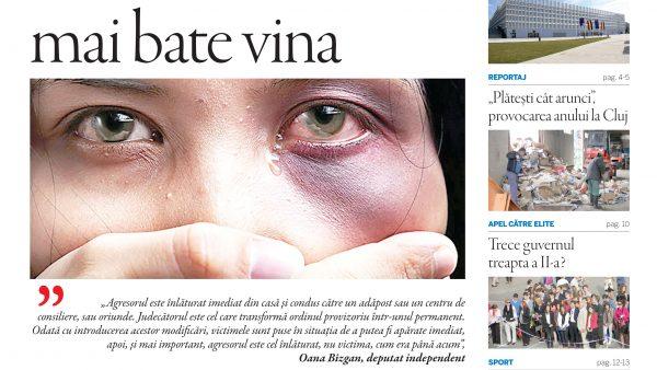 """Nu ratați noul număr Transilvania Reporter – """"Pe femeie nu o mai bate vina"""""""