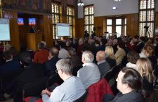 După 100 de ani. Sașii s-au întâlnit, la Mediaș, în aceeași încăpere în care au luat decizia unirii, să vorbească despre ei și România