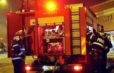 Două incendii în Cluj. Șase persoane au ajuns la spital