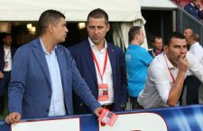 Cristian Panin (foto, cu ecuson la gât) a fost dat afară de la CFR pentru că a ignorat ordinul patronului cu privire la o înlocuire de jucător / Foto: Dan Bodea
