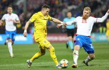 Ciprian Deac are două meciuri jucate pentru naționala României pe stadionul unde joacă și pentru echipa sa de club, CFR Cluj / Foto / Dan Bodea