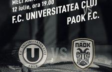 Meci de zile mari pe Cluj Arena! PAOK Salonic vine la Cluj!