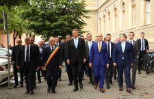 Galerie foto   Klaus Iohannis în campanie electorală la Cluj