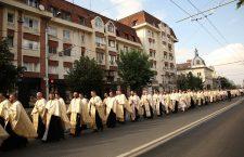 Foto | Mii de clujeni au luat parte la procesiunea de Rusalii