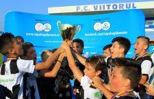 """Campioni de mici. Academia de fotbal """"U""""-Luceafărul a câștigat Cupa Hagi-Danone"""