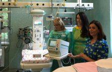 Foto | Organizația Salvați Copiii România a donat aparatură medicală vitală pentru copiii născuți prematur  din Cluj