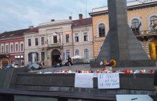 """A doua zi de proteste la Cluj: """"Pentru Alexandra! Împreună împotriva unui stat nepăsător!"""""""