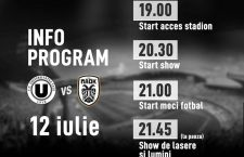 """U"" Cluj – PAOK Salonic, amicalul verii în România"