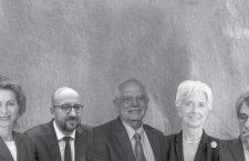 Ursula von der Leyen, Charles Michel. Josep Borrell, Christine Lagarde și David Sassoli (de la stânga la dreapta) | Colaj: TR