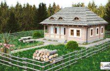 Casa Șaru Bucovinei - Casă țărănească tradițională. Una dintre primele 5 case care se vor construi în Satul Bratu