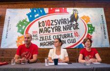 Sărbătoarea maghiarilor din Cluj. Stridențele și festivismul lasă loc simplității, culorilor și armoniei