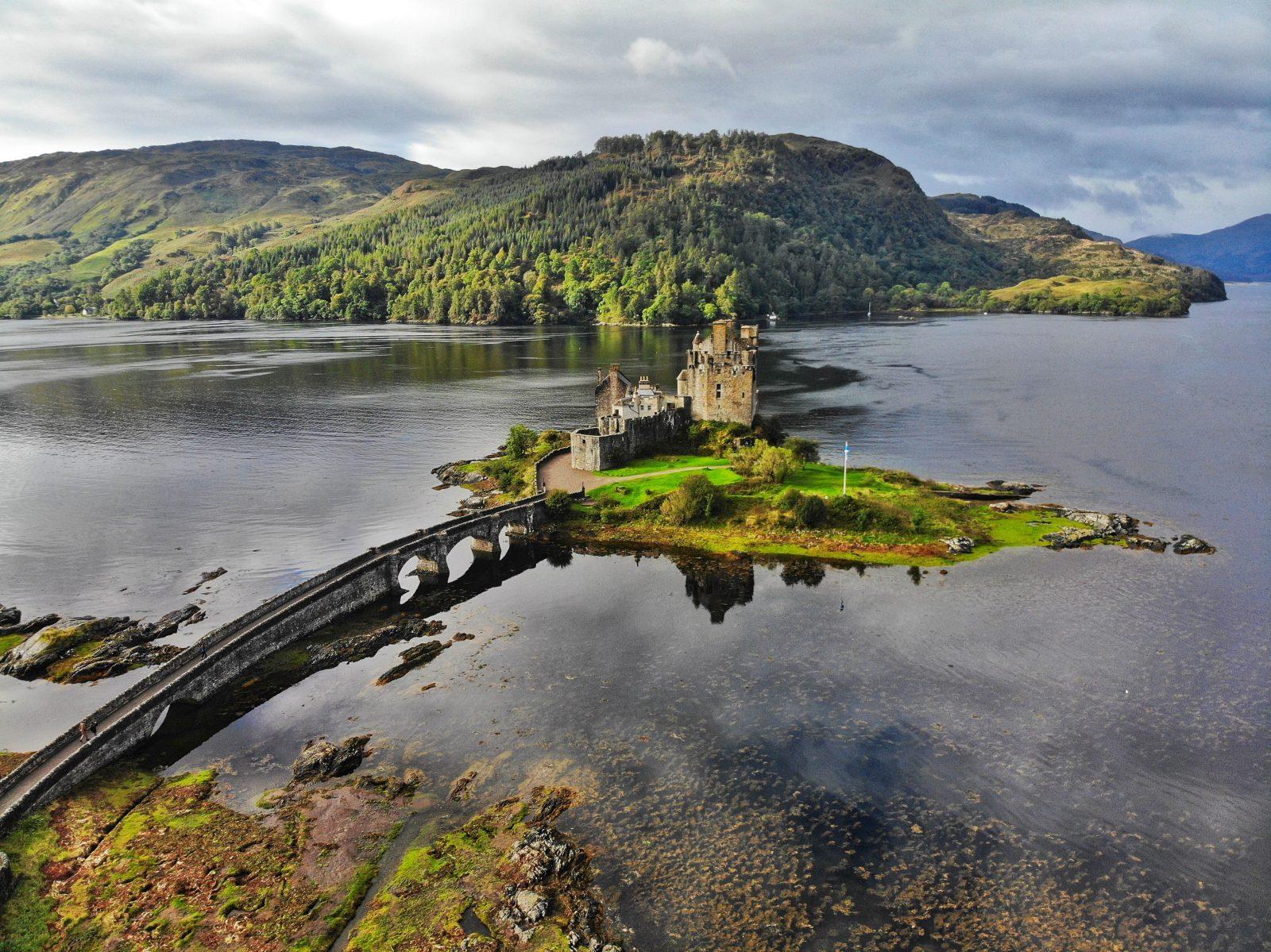 Castelul Eilean Donan.