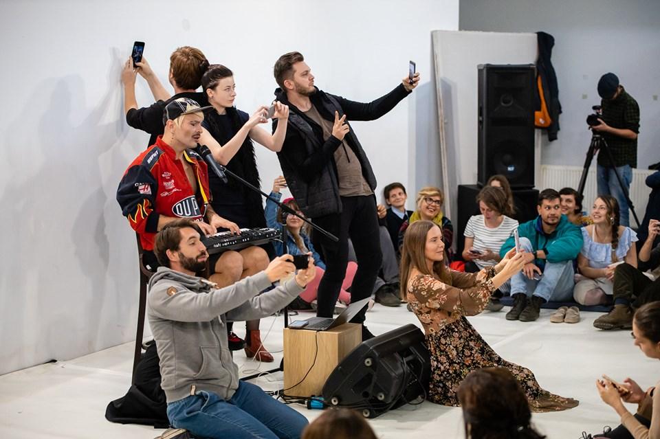 Selfie concert cu Ivo Dimchev