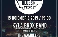 Mesajul Kylei Brox pentru fanii blues-ului din Cluj