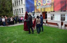 Bustul geografului de Martonne, dezvelit în fața Facultății de Geografie din Cluj