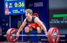 Alex Lupișcă, aproape de podium la europenele de haltere