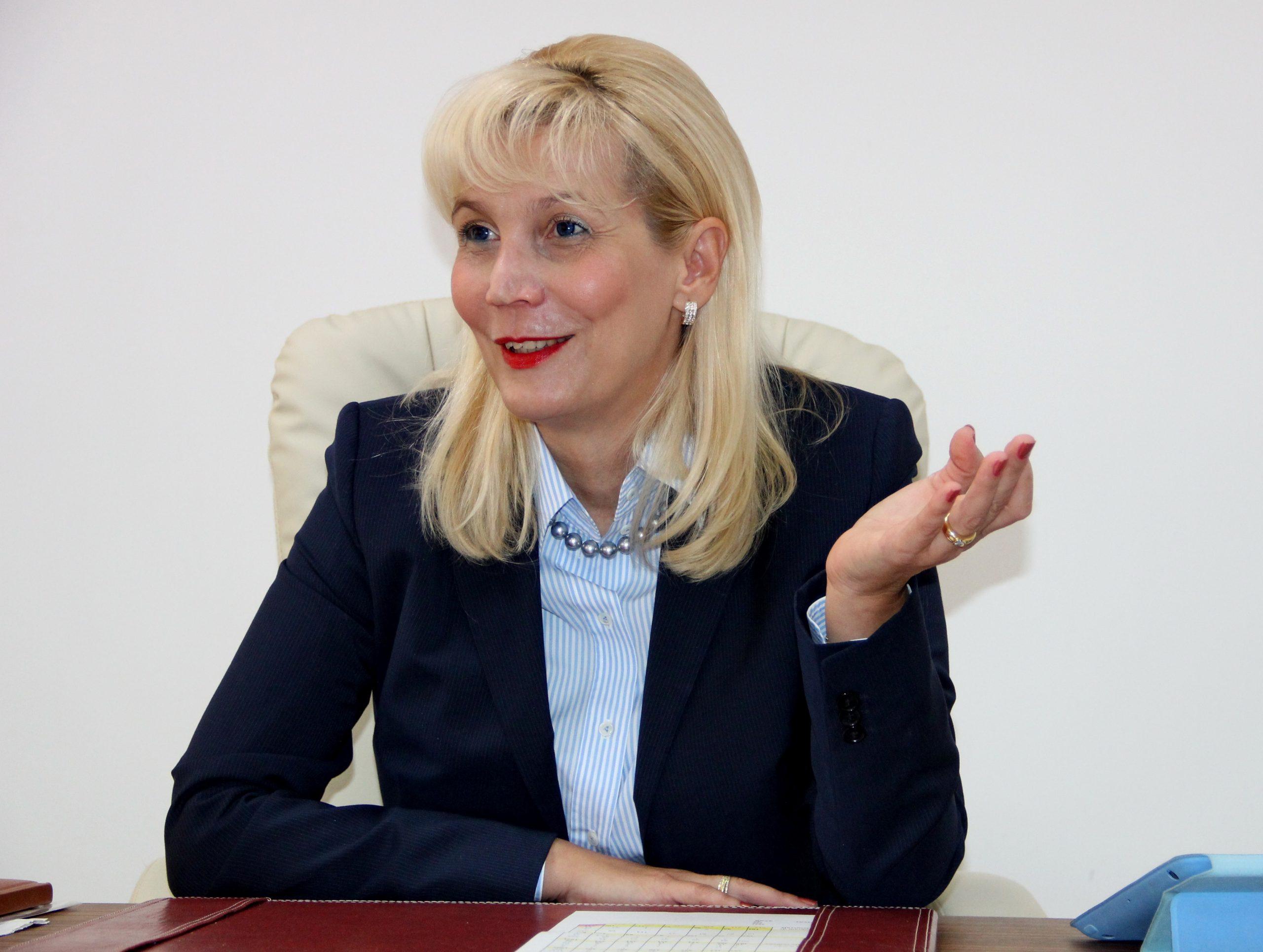 Prof. Anca Buzoianu, prima femeie rector din istoria UMF Cluj-Napoca -  Transilvania Reporter