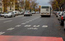 Bandă dedicată transportului în comun în Mănăștur
