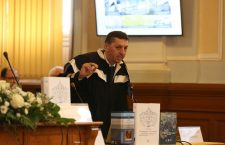 Prorectorul Daniel David, candidat la postul de rector   Foto: Dan Bodea