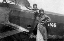 Irina Burnaia și Emilia Ilie în 1935/Foto: Asociația Română pentru Propaganda şi Istoria Aeronauticii (ARPIA)