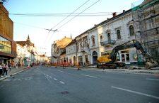 Se reia circulația autobuzelor pe strada Regele Ferdinand înspre Piața Unirii