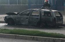 Tot mai multe mașini mistuite de flăcări în Cluj-Napoca