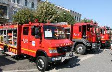 Mașini vechi și uzate în dotarea ISU Cluj. Cea mai bătrână autospecială de stingere a incendiilor a împlinit 40 de ani