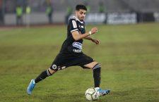 Cu golul egalizator marcat în meciul cu FC Argeș, Sebastian Mailat și-a făcut intrarea pe lista fotbaliștilor care au înscris în primul lor meci oficial jucat în tricoul Universității Cluj / Foto Dan Bodea
