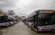 25 de troleibuze noi pe străzile din Cluj