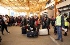 Fotografie din 9 aprilie din zona parcării Aeroportului Internațional Cluj/Foto: Dan Bodea