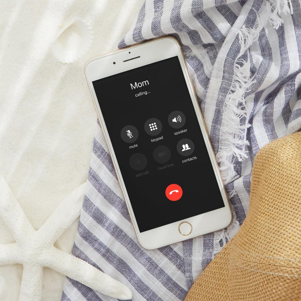Mamas Am Telefon-Pov