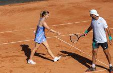 Halep a făcut un antrenament la Cluj, înainte să reintre în circuitul WTA