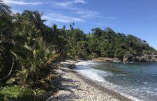 Plaja sălbatică în Dominica