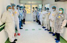 Secția Adulți 2 a Spitalului Clinic de Boli Infecțioase din Cluj-Napoca a marcat Ziua Siguranței Pacientului și a Personalului Medical/ Foto: SCBI Cluj
