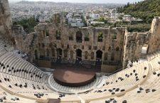 Teatrul Herodes Atticus de pe Acropole