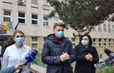 Vaccinarea la Cluj a început la Spitalul de Boli Infecțioase – FOTO