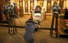 Greco-catolicii își iau rămas bun de la Preasfințitul Florentin