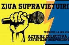 Ziua supraviețuirii. Revolta artiștilor care s-au hotărât să trăiască