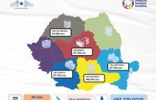 O nouă tranșă de vaccin produs de Pfizer sosește astăzi în România. Peste 90.000 de doze ajung la Cluj