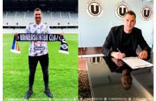 """Costinel Gugu, al treilea transfer la """"U"""" Cluj. În sezonul recent încheiat a promovat cu FC U Craiova în Liga 1"""