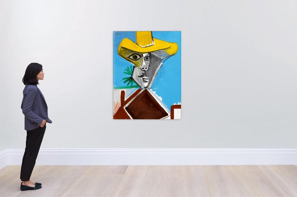 Buste d'homme-Pablo Picasso