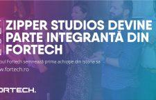 Grupul Fortech semnează primul acord de achiziție, cu firma de IT Zipper Studios